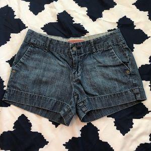 GAP Medium Wash Jean Shorts Size 1